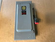 Square D, Safety Switch, Heavy Duty, HU361