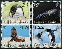 Falkland Islands Birds Stamps 2018 MNH Macaroni Penguins Predators & Prey 4v Set
