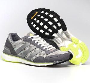 NEW Adidas Adizero Adios 3 Grey Running Shoes Women Sneakers BB6410 NEW