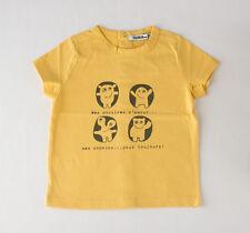 Camiseta amarilla de manga corta de niño (varias tallas)