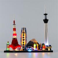 LED Licht Set Für 21051 LEGO Architecture Tokyo Beleuchtungs Kit (mit Anleitung)