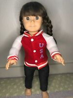 American Girl Doll Pre-Mattel Pleasant Company Artist Mark Pre 2000 Brown Hair