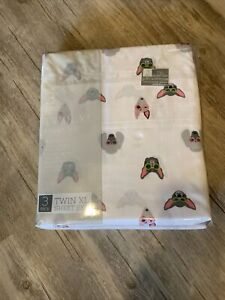 Twin 3-Piece XL Sheet Set Whimsical French Bull Dog Polyester TXL Poodle Dogs