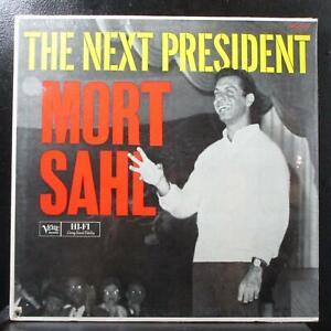 Mort Sahl - The Next President LP sealed Mono Verve MG V-15021 USA 1960