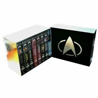 Star Trek VHS Boxset 7 Movies with Rare Limited Edition First Contact Lenticular