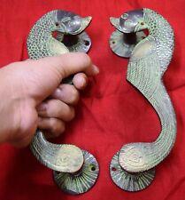 Parrot Figurine Door Handle Brass Vintage Style Handmade Cupboard Door Handle BM
