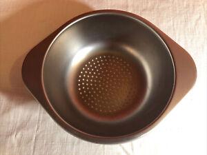 Revere Ware Stainless Steel Steamer Strainer Insert Fits 2 & 3 Quart Sauce Pan