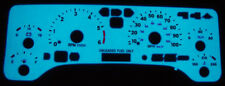 97 98 99 00 01 02 03 04 05 Jeep Wrangler Tj Glow Gauges Face Overlay New