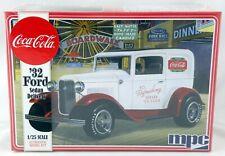 1:25 Scale Coca-Cola 1932 Ford Sedan Delivery Truck Model Kit - MPC #902/12