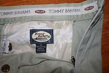 Tommy Bahama~Women's Plus Size 36 inch Waist~Pleated~Relaxed Fit~Beige~Pants~EUC