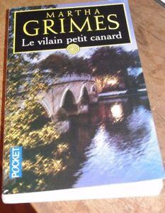 livre roman martha grimes          le vilain petit canard