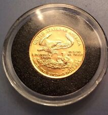 1/10 oz Gold American Eagle PROOF  FIVE DOLLAR GOLD COIN 1987-