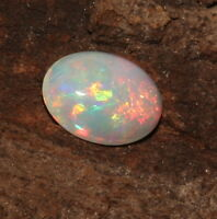 Natural  Ethiopian Welo Fire Opal  Oval Cabochon  Gemstone .