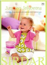 Jumping Jelly Beans - Sirdar Knitting Pattern Book 392 - 13 Designs NB - 7yrs