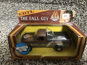 The FALL GUY Pick Up Truck ERTL 1/43 scale w/ Box 1982 RARE!! Pull back