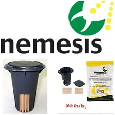 12 NEMESIS termite monitor bait station and 100g bait bag termite treatment