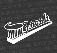 Fresh Vinyl Decal JDM Stickers Illest Dope Stance Euro Lowered Car Window Drift