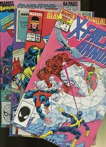 X-Factor Annual 1,2,3,4 ^4 Book Lot^ Marvel Comics! Mutants! X-Men! Vol.1! Super