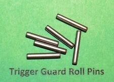 """6  SPIRAL COILED HARDENED SS 1/8"""" x 5/8"""" ROLL PINS Mil Spec MADE IN USA"""