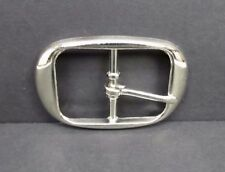 "Chrome Plated Plain Belt Buckle Heavy Duty Quality Replacement 1.5"" Belt Width"