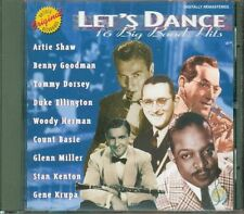 Let'S Dance 16 Big Band Hits - Artie Shaw/Gene Krupa/Count Basie/Ellington Cd Ex