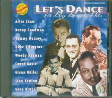Let'S Dance 16 Big Band Hits - Artie Shaw/Gene Krupa/Count Basie/Ellington Cd Ex