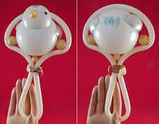 Vintage 1930s Antique Childrens Celluloid Hand Painted Chick Baby Rattle Toy