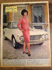 LANCIA FULVIA Coupe' & Pin-Up 1965