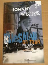 Johnny Winter Rare 2005 Promo Poster of Bluesman Cd Concert Tour Mint Usa 11x17