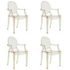 Kartell, Louis Ghost 4 Sedie, Philippe Starck, 2002