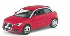 "Brand New 5"" Kinsmart 2010 Audi A1 Diecast Model Toy Car Pull Action 1:32- Red"