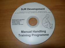 Manual Handling & Lifting Health Safety Training Materials Resources CD