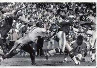 1969 Football Wire Photo, Mac Percival, Dick Butkus, Bears ~ Bob Rowe, Cardinals