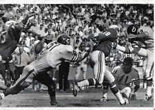 1969 Football Wire Photo, Mac Percival, Dick Butkus, Bears ~ Bob Rowe, Cardinals