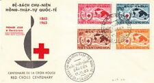 1963 CENTURY of RED CROSS 1863-1963 VIETNAM FDC COVER