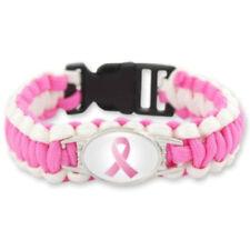 Breast Cancer Paracord Bracelet Fighter Survivor Support Strong Gift Canadian