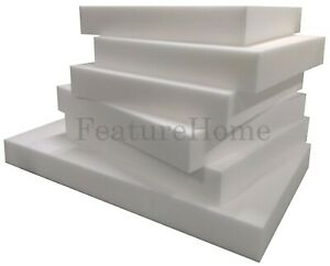 High Density Upholstery Foam Sheet - CUT TO ANY SIZE - Sofa Pads & Cushions