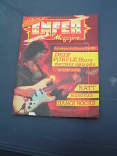 Enfer Magazine 20 1984 THE FIRM JIMMY PAGE DEEP PURPLE SCORPIONS MANOWAR METALLI