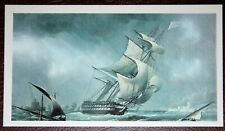 HMS WARRIOR    Unmounted Illustrated Card