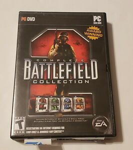 Battlefield Complete Collection PC DVD Game (2007)
