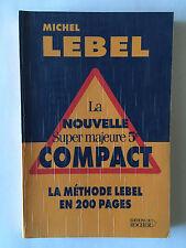 NOUVELLE SUPER MAJEURE 5 EME COMPACT 2002 MICHEL LEBEL CARTES JEUX