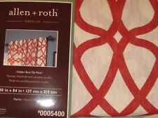 100% Cotton  Allen Roth Curtains