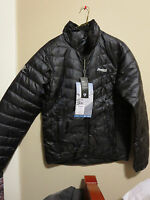 Mens New Bergans of Norway Down Light Jacket Size Small Color Black