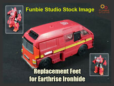 Transformers Earthrise Ironhide/Ratchet Feet Upgrade  *UPGRADE ONLY