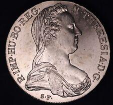 1780 Austria Maria Theresia silver thaler restrike *[14535]