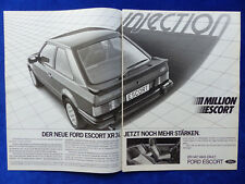 345) Ford Escort XR 3i - Advertisement Advertisement Advertisement 1982