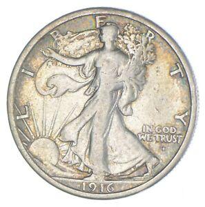 Razor Sharp - 1916-D Walking Liberty Half Dollar - Look it up! *252