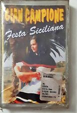Gian Campione Festa Siciliana Mc Cassette Tape Sealed