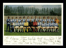 Hertha BSC Berlin Mannschaftskarte  1970-71 TOP