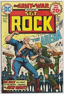 Our Army at War with Sgt. Rock #273, Very Fine Condition